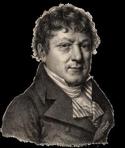 Jean Baptiste Delambre, French mathematician and astronomer.